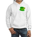 Shamrock Hat Hooded Sweatshirt