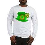 Shamrock Hat Long Sleeve T-Shirt