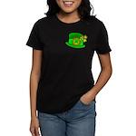 Shamrock Hat Women's Dark T-Shirt