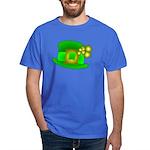 Shamrock Hat Dark T-Shirt