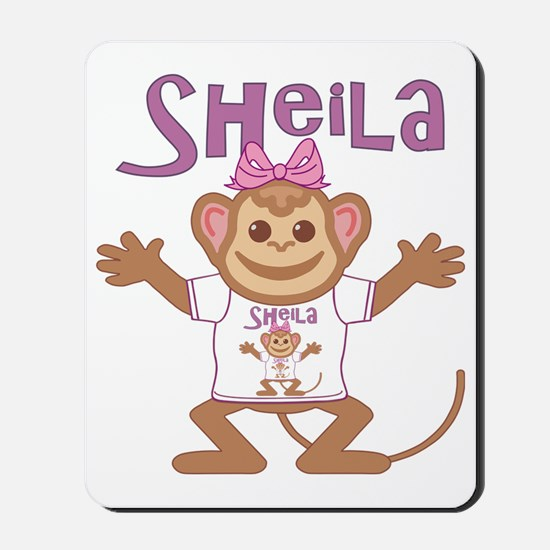 sheila-g-monkey Mousepad