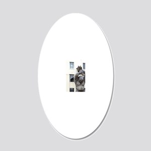 Peter Jackson played host fo 20x12 Oval Wall Decal