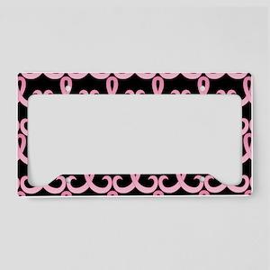 PinkRib365PBLaptop License Plate Holder