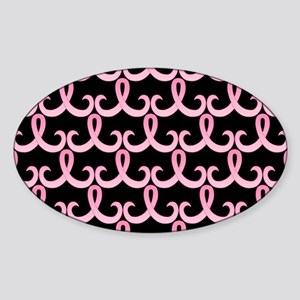 PinkRib365PBLaptop Sticker (Oval)