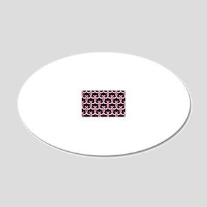 PinkRib365PBLaptop 20x12 Oval Wall Decal