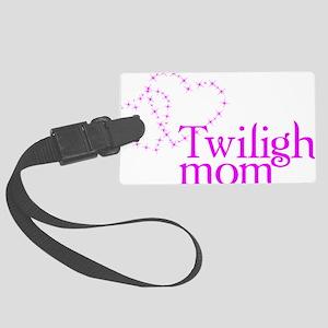 twilightmom4 Large Luggage Tag