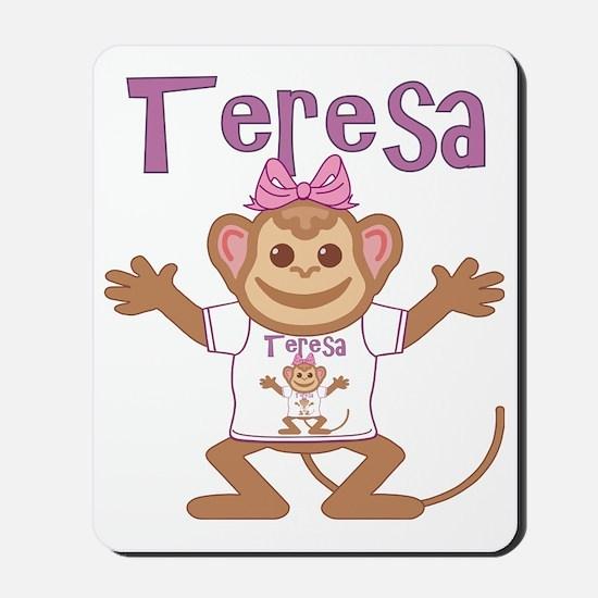 teresa-g-monkey Mousepad