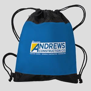 Riverdale Andrews Construction Drawstring Bag