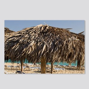 Cuba. Beach at Sol Cayo S Postcards (Package of 8)