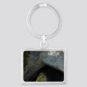 Glass Bottom Boat, Cathedral Co Landscape Keychain