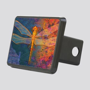 toiletryFlamingDragonfly Rectangular Hitch Cover