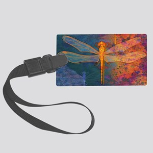 toiletryFlamingDragonfly Large Luggage Tag