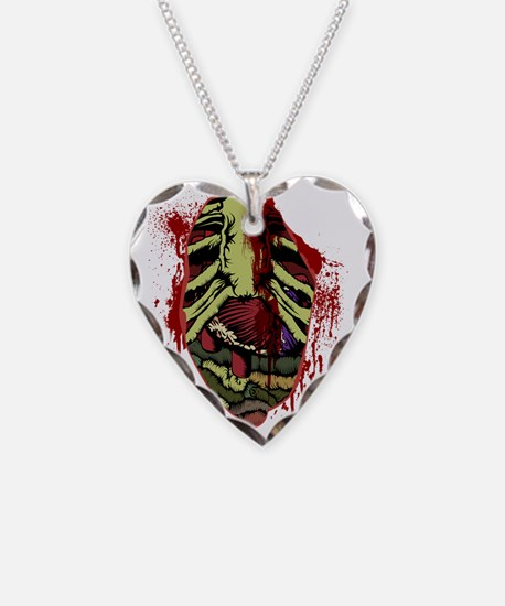Zombie Chest Wound Necklace
