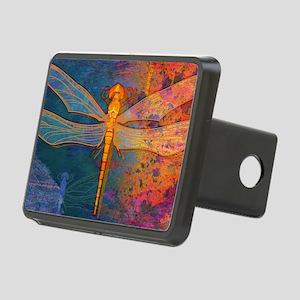 shoulderFlamingDragonfly Rectangular Hitch Cover