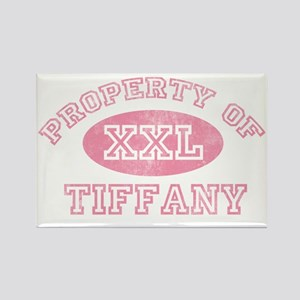 Property-of-Tiffany Rectangle Magnet
