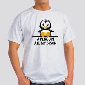 apenguinatemybrainCENTER2000 Light T-Shirt