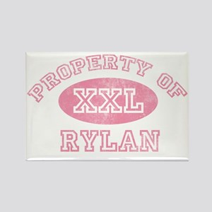 Property-of-Rylan Rectangle Magnet