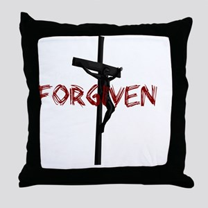 NotPerfect-Forgiven_4Dark Throw Pillow