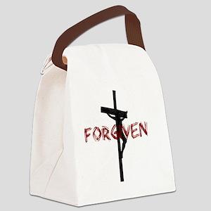 NotPerfect-Forgiven_4Dark Canvas Lunch Bag