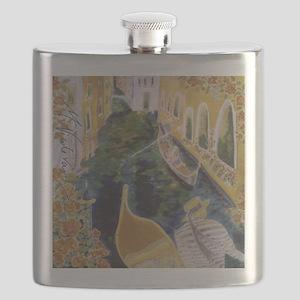Gondolier of Venice Flask