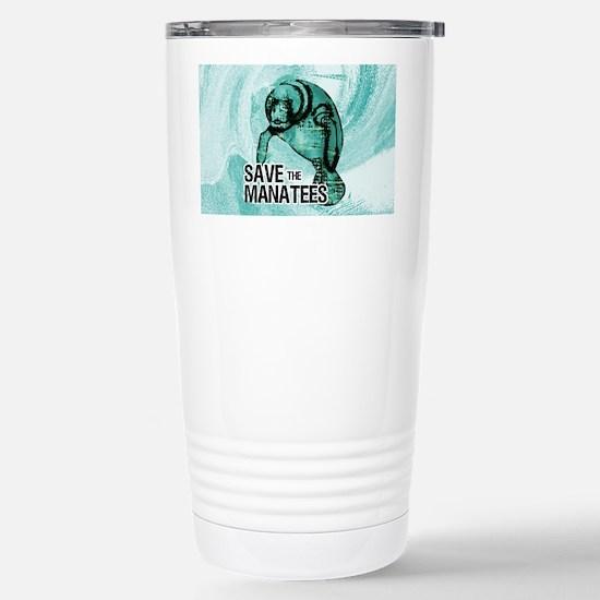 shoulderManateeSave Stainless Steel Travel Mug