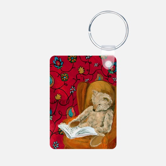 readingbear.kindle2 Keychains