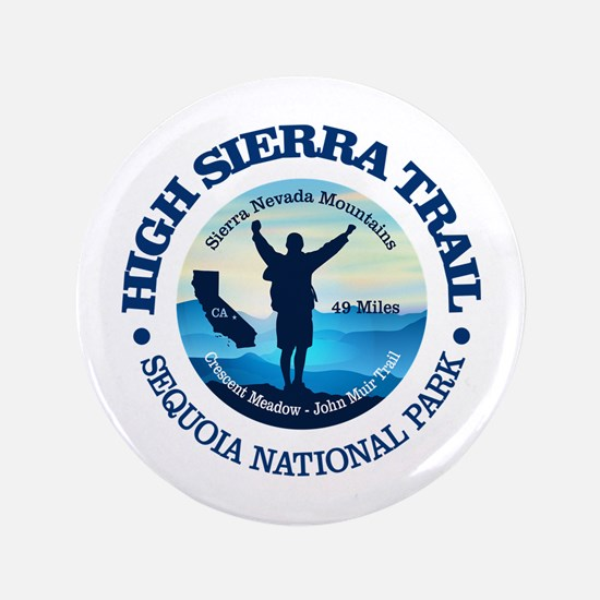 "High Sierra Trail 3.5"" Button"