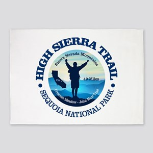 High Sierra Trail 5'x7'Area Rug