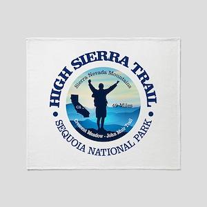 High Sierra Trail Throw Blanket