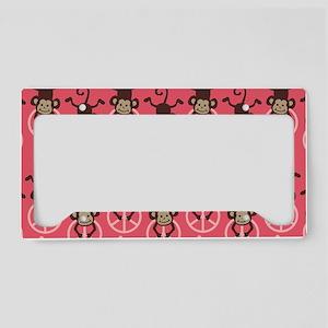 GIRLPEACECLUTCH License Plate Holder