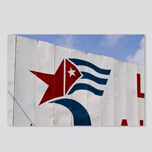 Billboard saying Libertad Postcards (Package of 8)