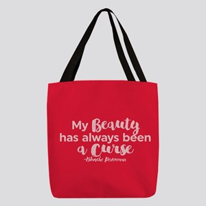 GG Blanche Beauty Curse Polyester Tote Bag