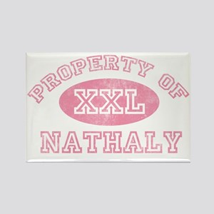 Property-of-Nathaly Rectangle Magnet
