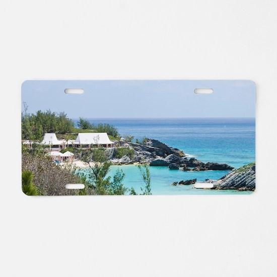Bermuda. East Whale Bay bea Aluminum License Plate
