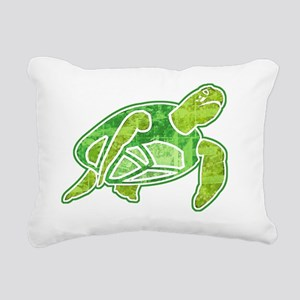 seaTurtle2 Rectangular Canvas Pillow