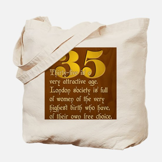 ThirtyFive Tote Bag