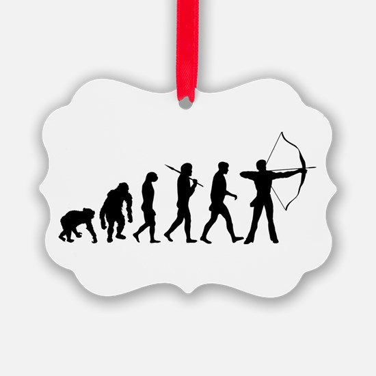 Evolution Archery Ornament