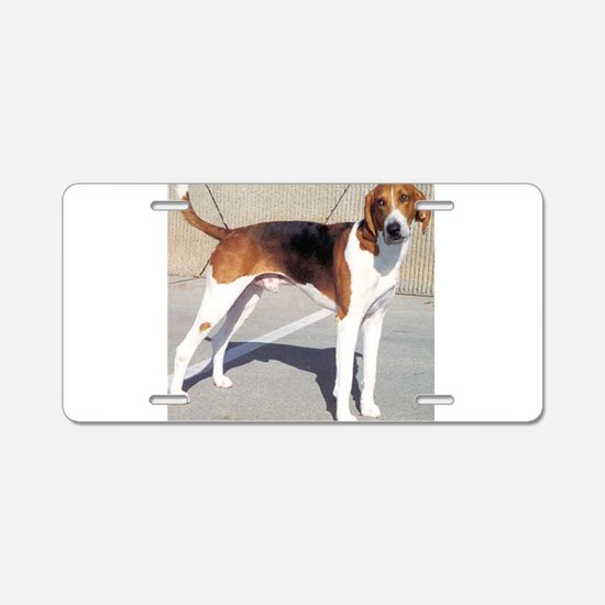 american foxhound full Aluminum License Plate