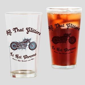 glitters-chrome-LTT Drinking Glass