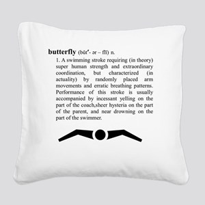 butterfly_2 Square Canvas Pillow