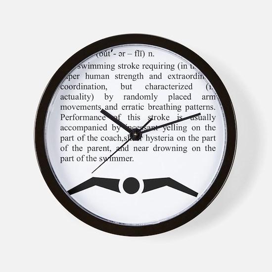 butterfly_2 Wall Clock