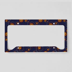 navygoldtb License Plate Holder