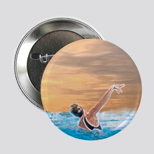 """Synchronized swimming 2.25"""" Button (10 pack)"""