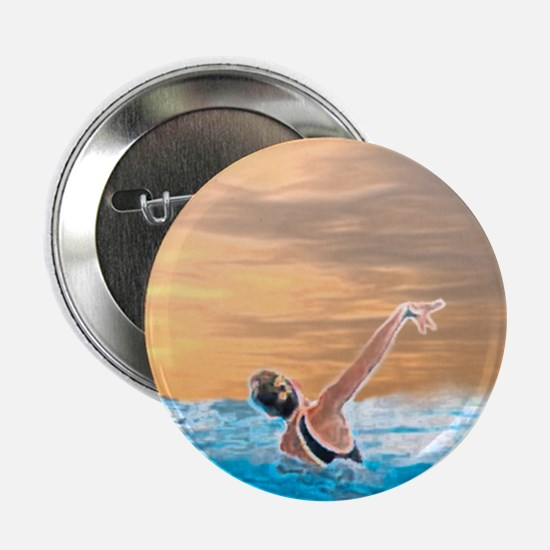 "Synchronized swimming 2.25"" Button (10 pack)"