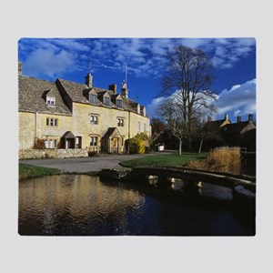 01 Lower Slaughter, the Cotswolds Throw Blanket