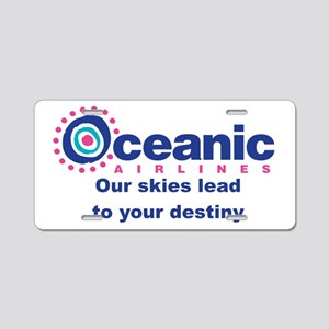 Oceanic Airlines Stein Aluminum License Plate
