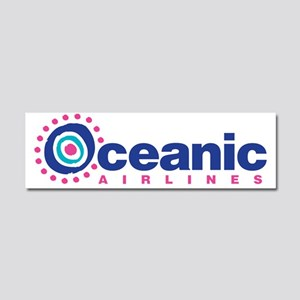 Oceanic Airlines Car Magnet 10 x 3
