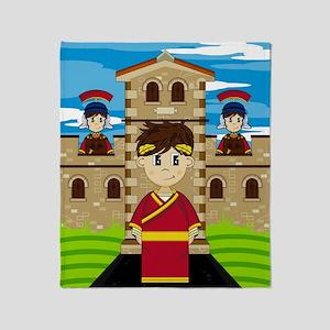 Roman Pad13 Throw Blanket