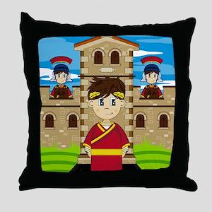 Roman Pad13 Throw Pillow