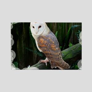 Owl2 Rectangle Magnet